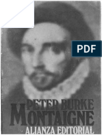 Peter Burke Montaigne