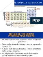 Metais de Transicao Modificado