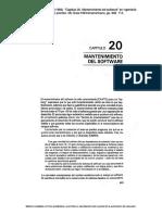 """19) Pressman, Roger S. (1993). """"Capitulo 20. Mantenimiento Del Software"""" en Ingeniería Del Software. Un Enfoque Práctico. España McGraw-HillInteramericana, Pp. 693-714"""