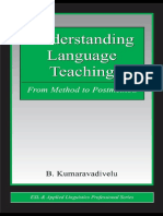 Kumaravadivelu Cap1 Understanding Language Teaching
