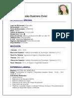 Curriculo de Yesenia Guerrero 2