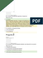 Evaluación Inicial Fundamentos de Economia Asturias