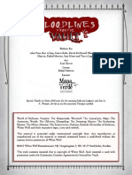 Bloodlines From the Vault Vol I