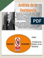 Análisis de La Resistencia