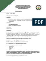 Informe COIP