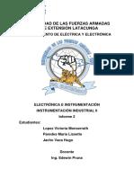 Informe - Ajuste y Calibración de Las Variables Nivel, Temperatura y Presión