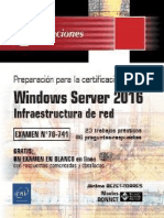 Windows Server 2016 - MCSA 70-741 Infraestructura de Red