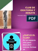 Club de Oratoria y Debate