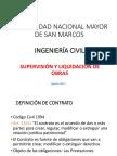 1 UNMSM - Supervision de Obras - Clase 12-04-2018 CONTRATOS