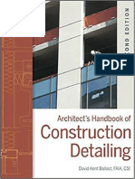 Architect Handbook of Construction Detailing by David Kent Ballast