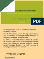 Historia de La Terapia Familiar Con CVF