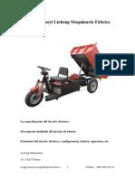 Manual de Triciclo Eléctrico