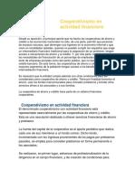 Cooperativismo en Actividad Financiera 7