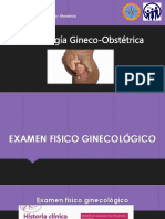 SEMIOLOGÍA GINECOOBSTÉTRICA
