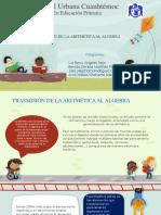 3º Transicion de La Aritmetica Al Algebra