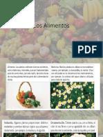 Los Alimentos 3ro básico.pptx
