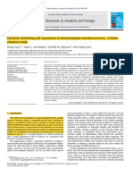 Dynamic Modelling and Simulation of Dental Implant Insertion Process_A Finite Element Study