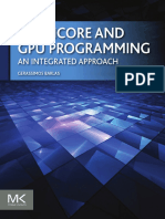 2015 Multicore and GPU Programming an Integrated Approach