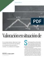 Valoracion en Situacion de Crisis Financiera