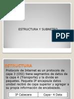 Estructura IPv4 y IPv6