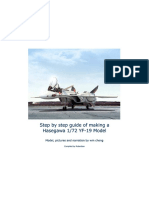 1 72 Hasegawa Macross Yf 19 Step by Step Modeling Guide by Wm Cheng Compiled by Roberttan