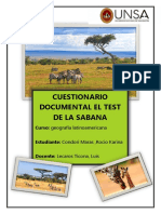 Documental El Test de La Sabana