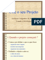 Tutorial Completo-ms project 2013