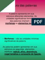Estrutura Das Palavras (1)