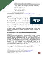 EPISTEMOLOGÍA DE LAS CIENCIAS COMPUTACIONALES EN INGENIERÍA