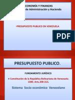 Presupuesto Publico en Venezuela