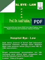 Hospital Bye - Law