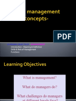 Introduction to management- by Shahid ELIMS