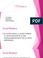 Social Relation..Errol