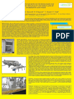 Microwave Food Drying RiNEm Benevento Poster