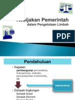 5-Kebijakan Pemerintah (Materi Limbah)