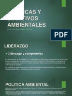 Politicas y Objetivos Ambientales Reinmark