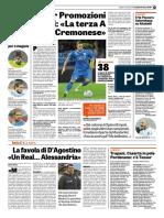 La Gazzetta Dello Sport 02-06-2018 - Intervista a Castagnetti
