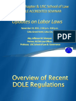 Ibp Cebu Mcle Labor Law Updates Nov. 19, 2015 Edited