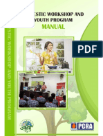 P.C.R.A--Domestic Workshop & Youth Programme English Manual