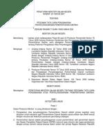 Permendagri No. 23 Tahun 2007