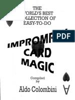Aldo Colombini ''Impromptu Card Magic''.pdf