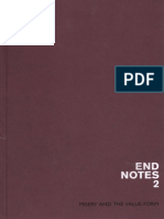 Endnotes 2 [Misery and the Value-Form theory] [Ed]by Maya Andrea González [2010]
