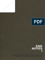 Endnotes 1 [Preliminary-materials for a Balance-sheet of the 20th Century] [Ed]by Théorie Communiste, Gilles Dauvé, Jean Barrot, Karl Nesic [2008]
