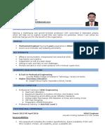 Curriculum Vitae Hariprasad