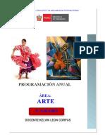 Progracion de Arte 3er Año
