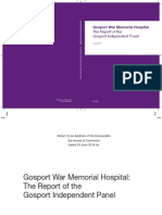 Report of The Gosport Independent Panel into Gosport War Memorial Hospital