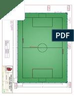 Plano en Planta Cancha Futbol