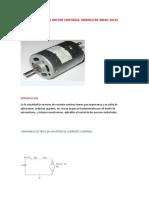 Parametros de Un Motor Continua Modelo Rs