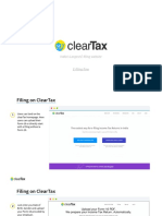 ClearTax E Filing User Guide 2016