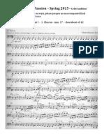 Cello Packet StMatthew